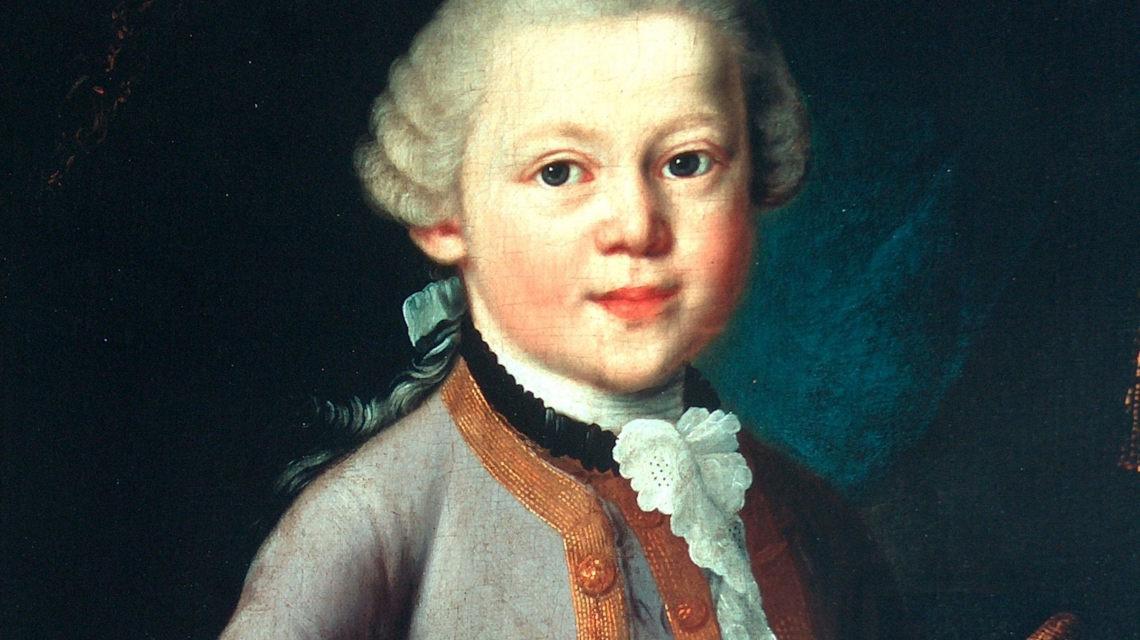 Mozart gyerekkorában