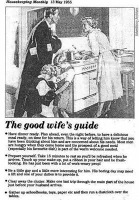 Kézikönyv nőknek 1955-ből