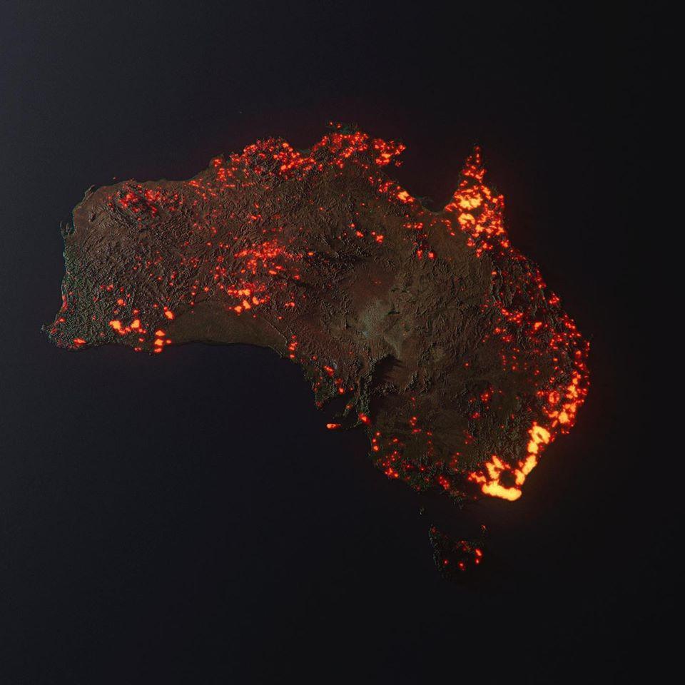 Ausztráliai bozóttüzek
