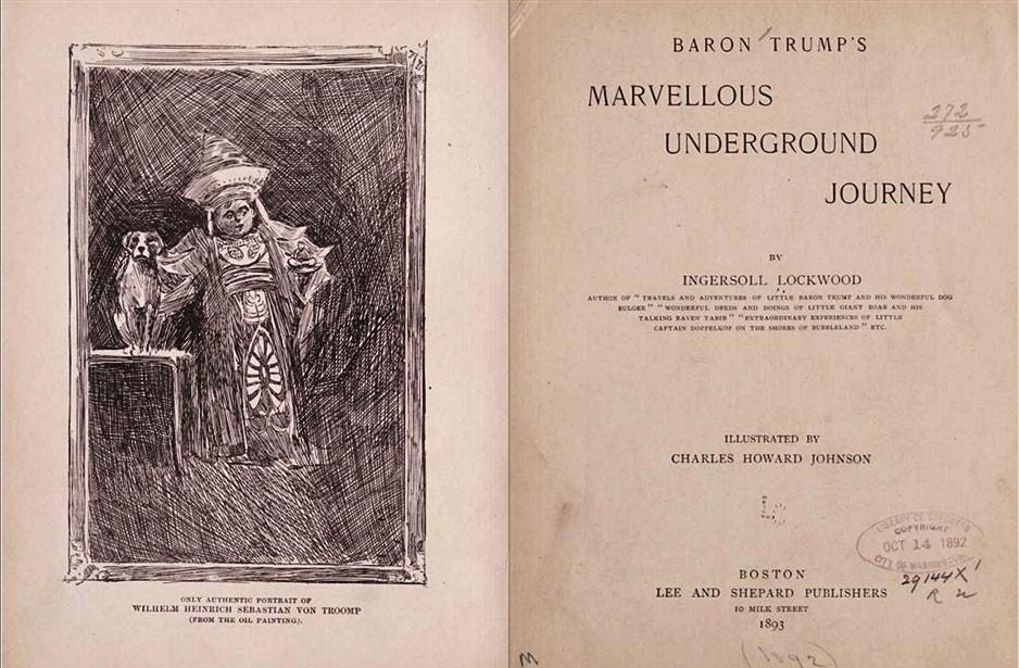 Baron Trump könyv