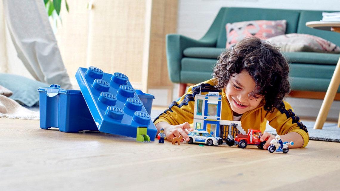 Lego rendőr készlet