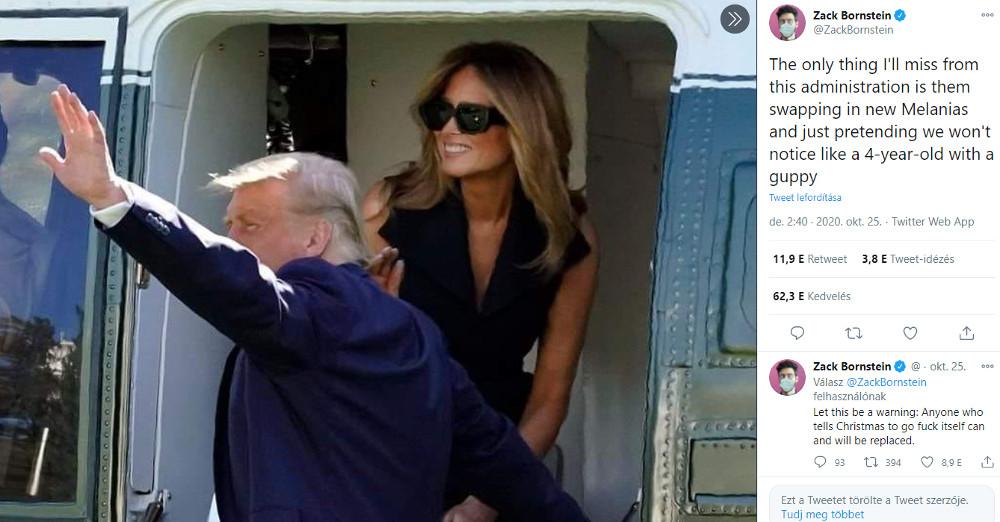 Trump és Melania