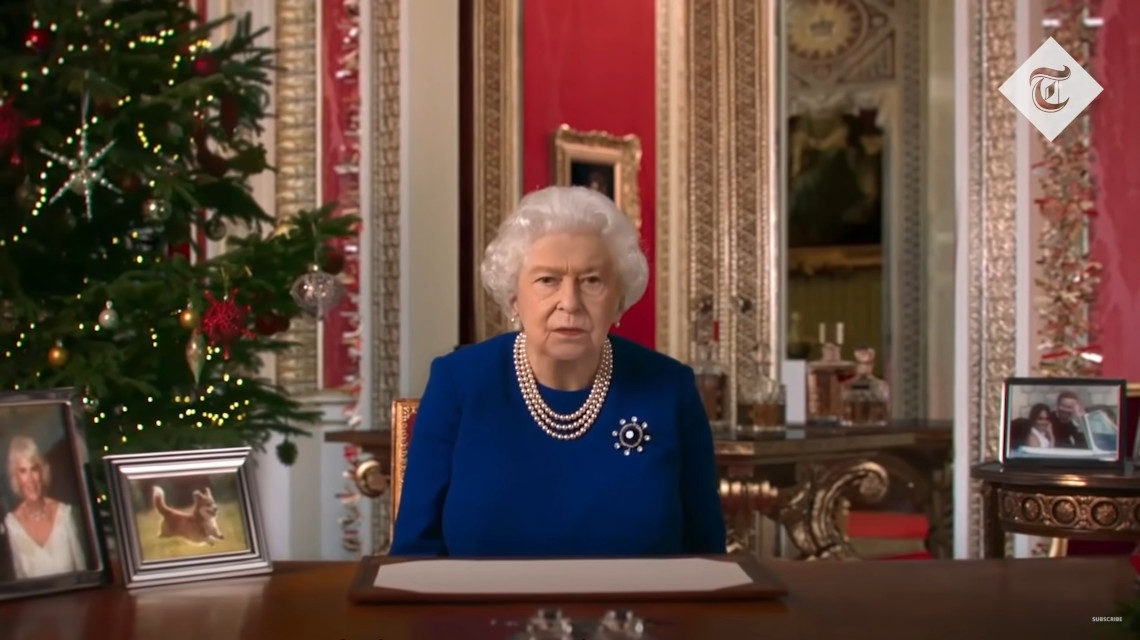 Erzsébet királynő deepfake videó Channel 4