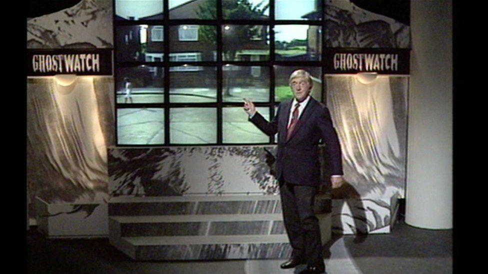 Michael Parkinson, a Ghostwatch műsorvezetője