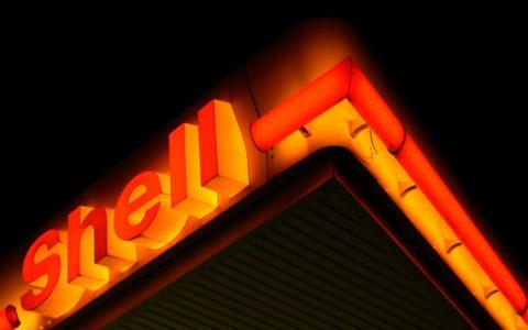 Shell benzinkút