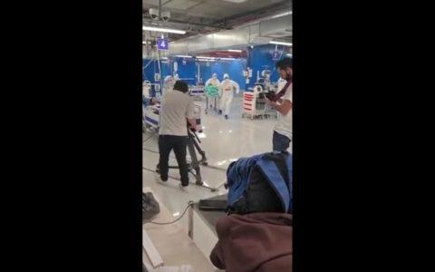 izraeli kórház koronavírus kamu