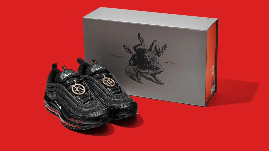 Nike Satan shoe