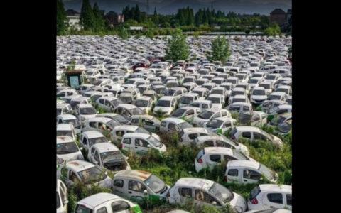 francia elektromos autó temető kamu