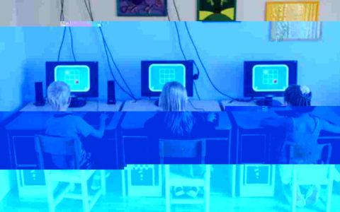 gyerekek számítógép