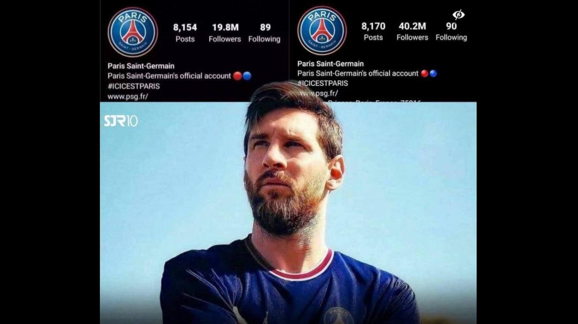 Lionel Messi PSG Instagram