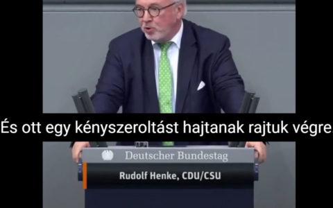 Rudolf Henke kényszeroltás