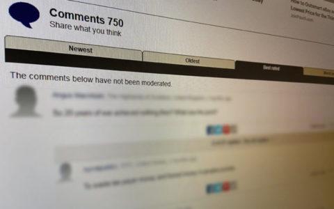 online kommentek