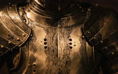 középkori páncél