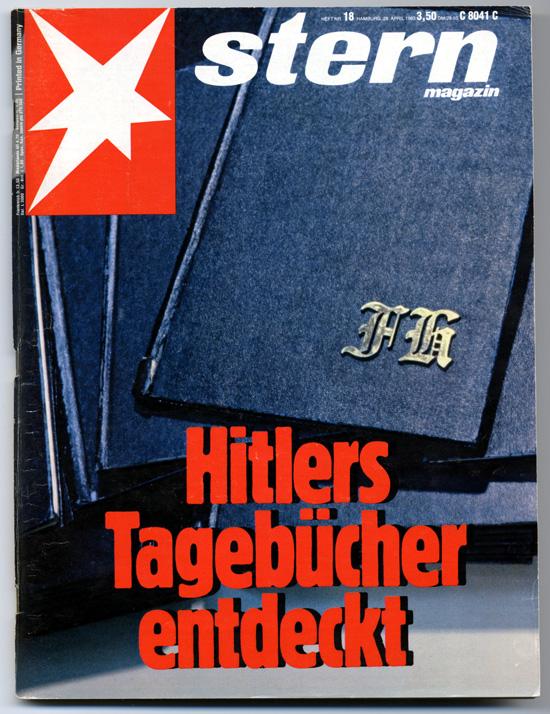 Hitler naplója a Spiegel címlapján