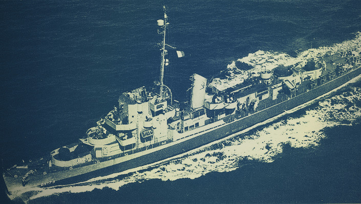 USS Eldridge hadihajó