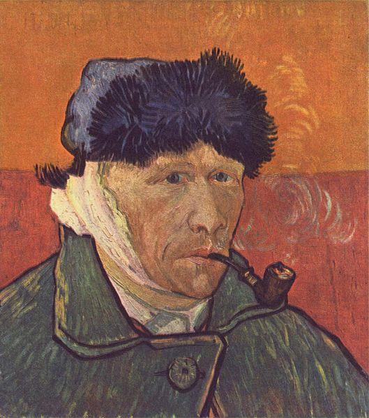 Van Gogh levágott füle