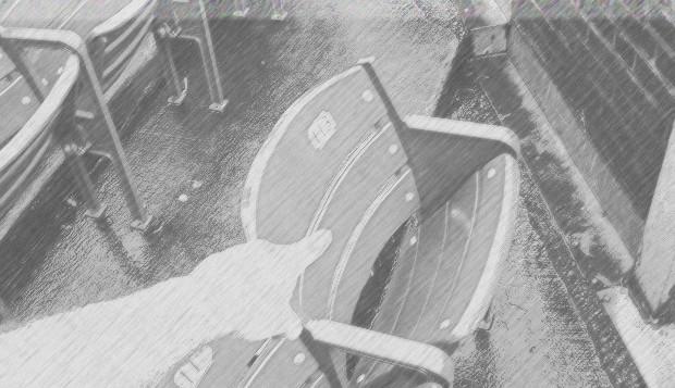 Steve Bartman széke - Chicago Cubs