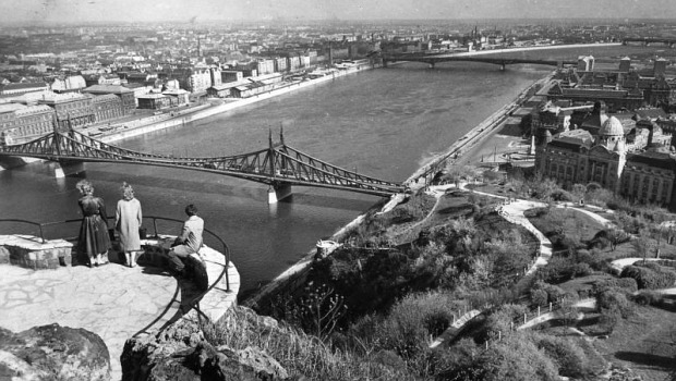 Budapest a Gellért hegyről