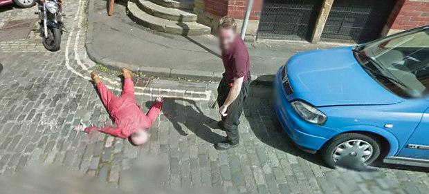 Gyilkosság a Google Street View-ban