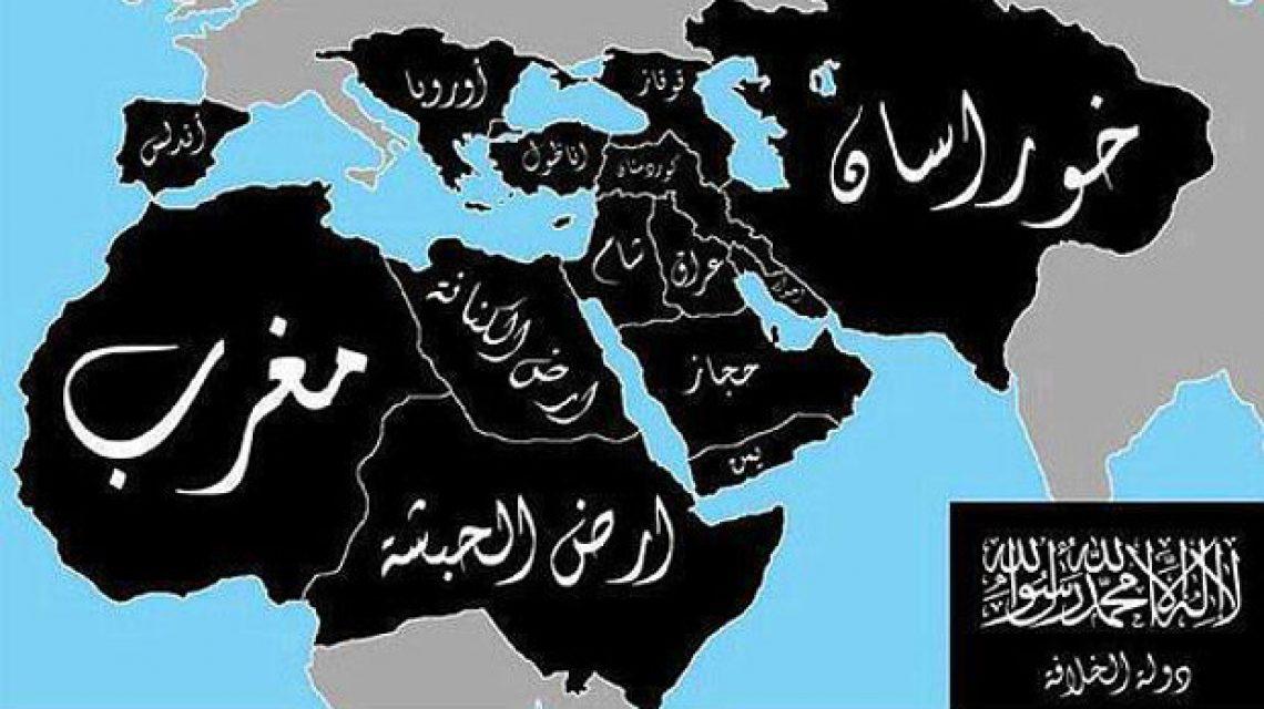Az ISIS térképe