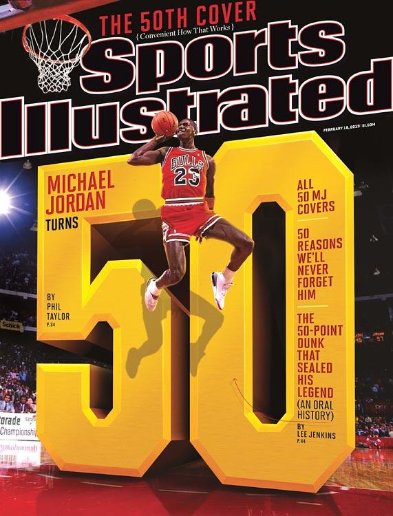 Michael Jordan a Sports Illustrated címlapján