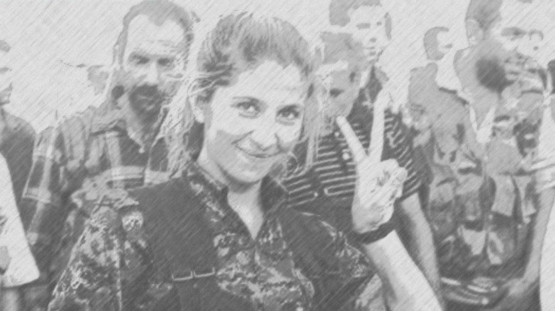 Kobani női harcos
