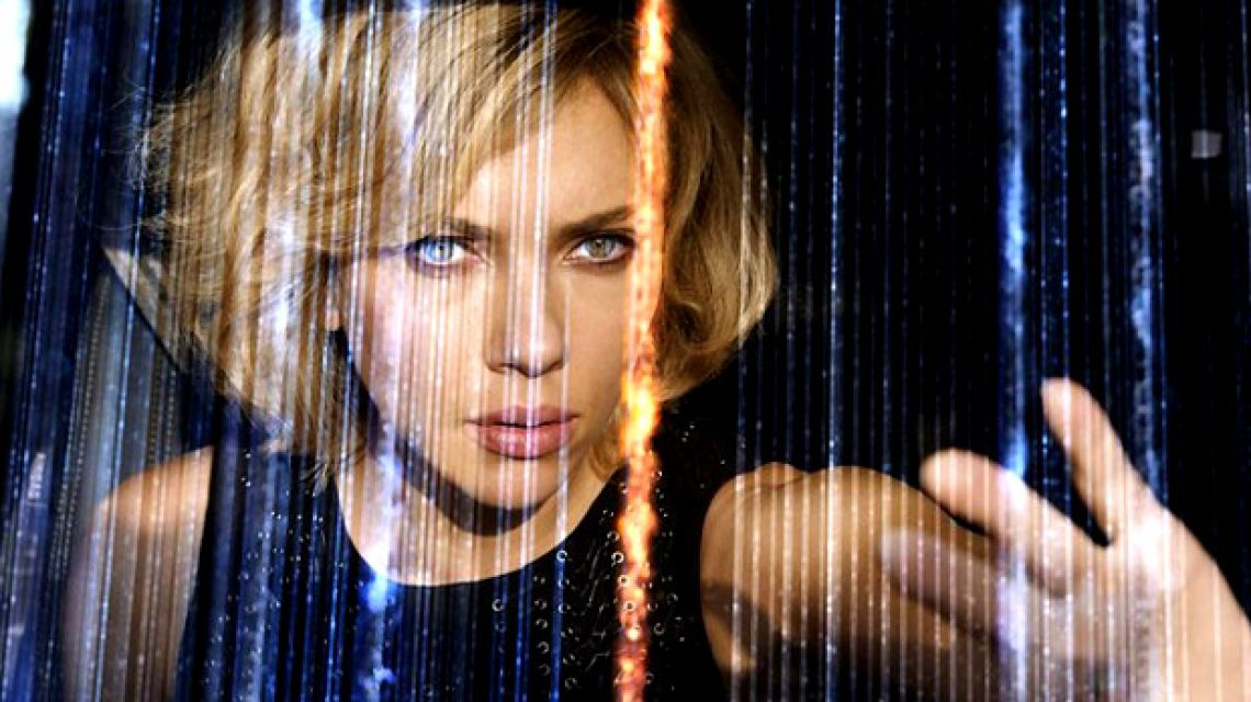 Scarlett Johansson a Lucy című filmben