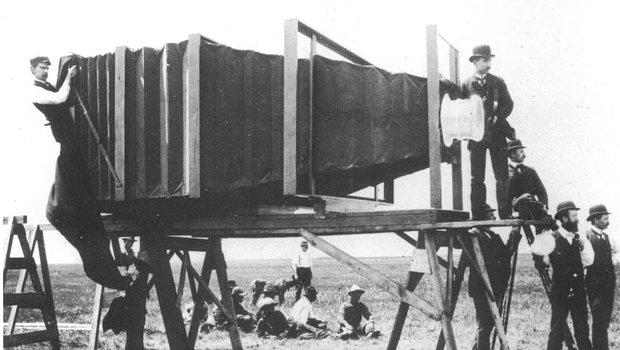 A világ első kamerája.