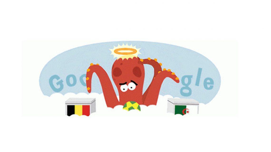 Paul, a polip a Google doodle-jében