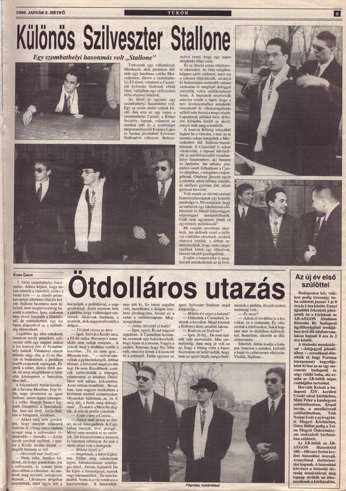 Különös Szilveszter Stallone