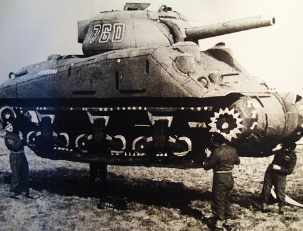 gumitankok a második világháborúban