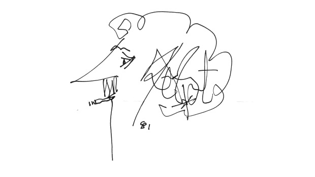 Kurt Vonnegut rajza