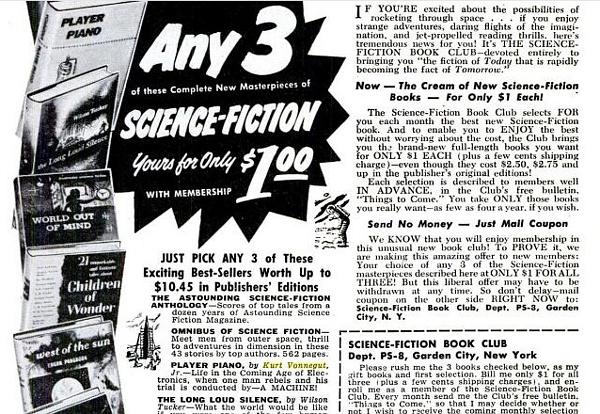 Popular Science 1953 Vonnegut